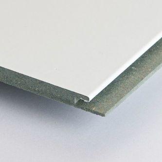 HDF plafond Hoogglans wit 1190x290x8 mm