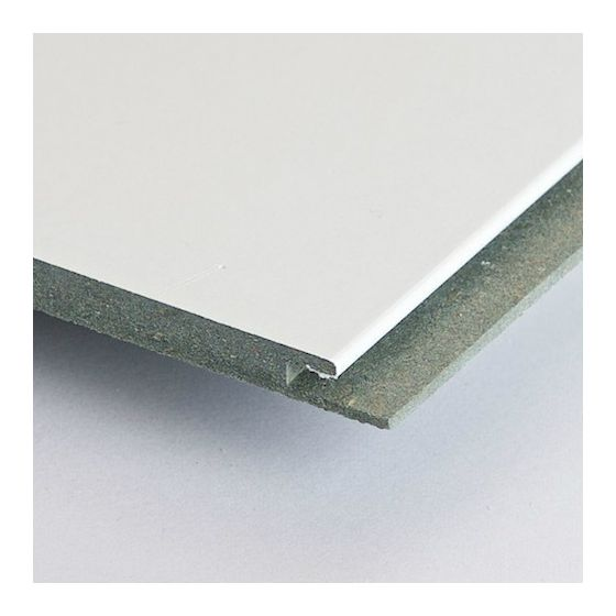 HDF 2580x300 mm Hoogglans wit