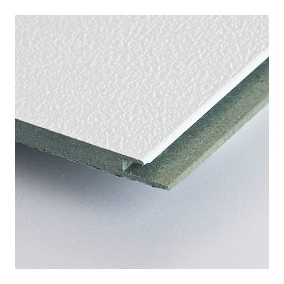 HDF plafond Stucco wit