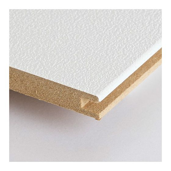 MDF plafond panelen stucco wit