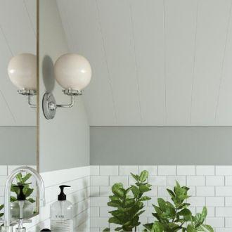 HDF plafond uni white panelen 2766x287x8 mm